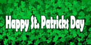 happy st. patrick's day by Ron Bird freedigitalphots dot net