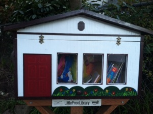 The Oswego Playschool Library is located at 517 8th Street in Lake Oswego with current holdings that appeal to the younger set including: The Cat in the Hat, I Spy, and Little House on the Prarie.