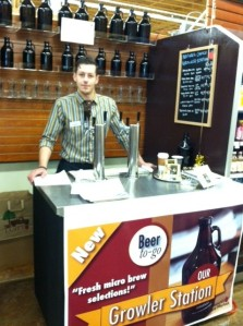 Lamb's Nature's Choice Market now offers a Growler Station for beer and cider to go.