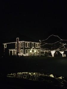 Outlined in light in Westlake.