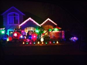 Christmas is on display in Westlake.