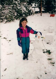 Snow beckons Lake Oswegans, like our daughter Riley a few years back, to come out and play.
