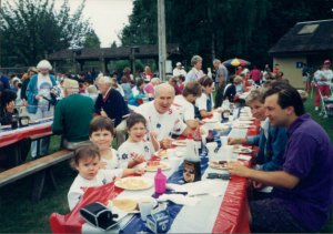 The Lake Oswego Lions Club 4th of July pancake breakfast has been a Costello family tradition for a long time.