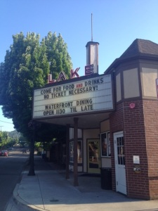 The Lake Theater Cafe at 106 N. State Street is the venue for Lake Oswego's Eco Film Fest beginning today, September 7 at 5:00 p.m.