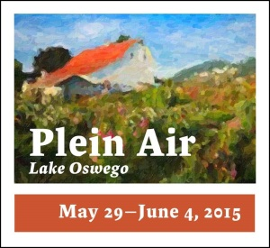Plein Air Lake Osweo_May 29 - June 4