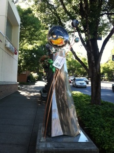 Stroll down A Avenue between 2nd and 3rd and you'll find this new addition to the Lake Oswego Gallery Without Walls.