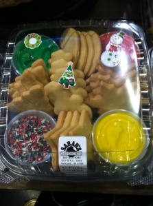Zupan's makes decorating Christmas cookies easy with this do-it-yourself kit from Sarah's.